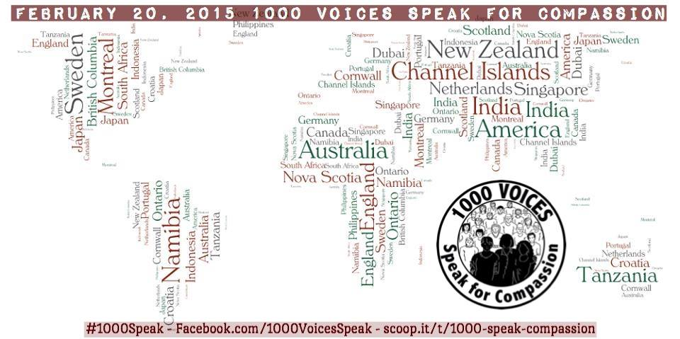 1000Speak Map