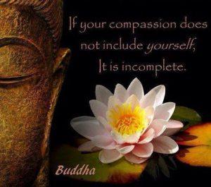 Buddha Self Compassion